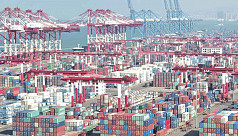 China's exports shrink most in two years,...