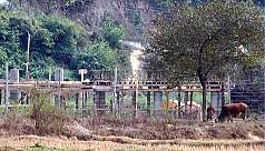 Risk of floods as Myanmar builds bridge...
