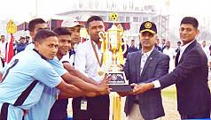 Annual Bangladesh Navy football...