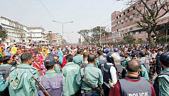 Violent clashes in Ashulia, Gazipur as RMG workers protest for sixth day