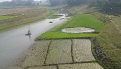 Dying Dhalai and Mogra riverbeds become...