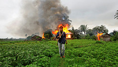 Thousands displaced as Myanmar army...