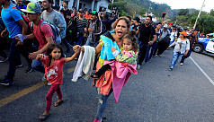 Hundreds in new US-bound migrant caravan...