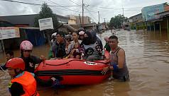 Indonesia flood, landslide death toll...