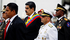 Venezuela's military backs Maduro, as...