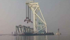 Seventh Padma Bridge span to be...