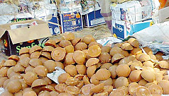 Rajshahi date juice now being sold...