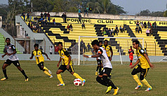 10-man Arambagh beat Saif, BJMC draw...