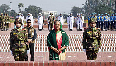 PM, new cabinet members pay tribute...