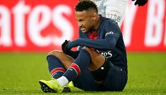 Neymar to miss Man Utd tie after being...