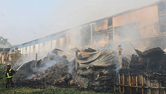 Jute mill fire in Jessore damages Tk15cr...