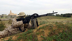 Fighting near Libyan capital kills...