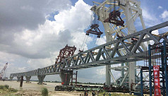 Material stolen from Padma Bridge project...