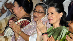 Sonia Gandhi greets PM Hasina on election...