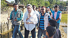 Rohingya crisis: UNHCR special envoy Angelina Jolie writes to PM