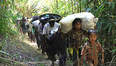 28 refugees return to Myanmar from...