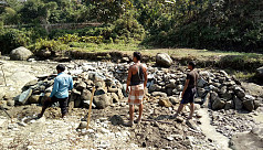 Illegal stone extraction causes Bandarban...