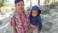 Bandarban refugees on the verge of food...
