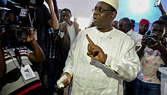 Senegal's Sall wins re-election in first...