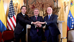 Venezuela's Guaido, Pence agree to tighten noose on Maduro