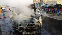 3 die as microbus catches fire on Chittagong...