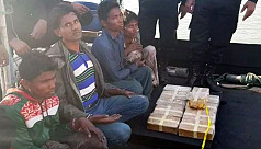 Three Rohingyas arrested while trying...