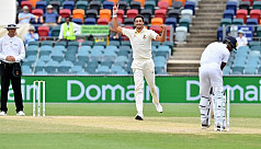 Starc takes 10 to lead Australia to...