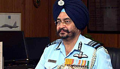 Indian Air Force chief in Dhaka