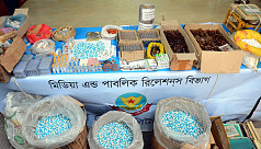 Detectives bust counterfeit medicine making gang in Dhaka