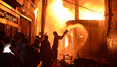 Another Chawkbazar fire leaves 3 youths injured