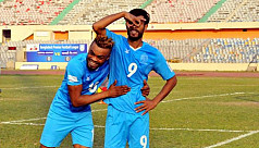 Jibon hat-trick inspires five-star...