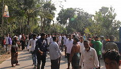 Students protest after receiving SSC...