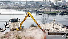 124 more illegal structures demolished...