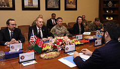 Acting Pentagon chief lands in Afghanistan,...
