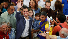 Venezuela's Guaido warns military on...