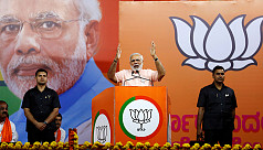 BJP and allies leading in stronghold...
