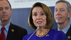 Pelosi urges support for resolution...