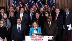 US House to vote on blocking Trump...