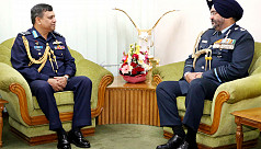 Indian Air Force chief calls on Bangladesh...