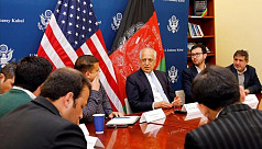 US peace envoy returns to Kabul ahead...