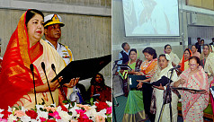 JS reserved seats: Newly elected women MPs sworn in