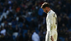 Ramos charged by UEFA with drawing deliberate...