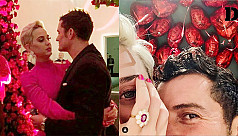 Orlando Bloom proposes to Katy Perry on Valentine's Day