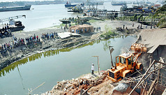 Eviction drives against illegal structures on Chittagong canals from Ramadan