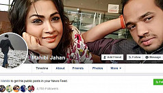 What the hijacker's Facebook profile...