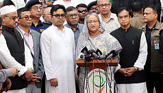 PM: Old Dhaka chemical depots couldn't be removed due to owners' unwillingness