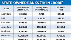NPLs at six state-owned banks account for 52% of sector total