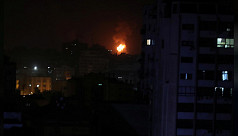 Israel launches Gaza strikes after rockets...