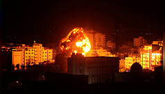 Israel carries out Gaza air strikes...