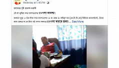 Video of Comilla doctor sleeping on...